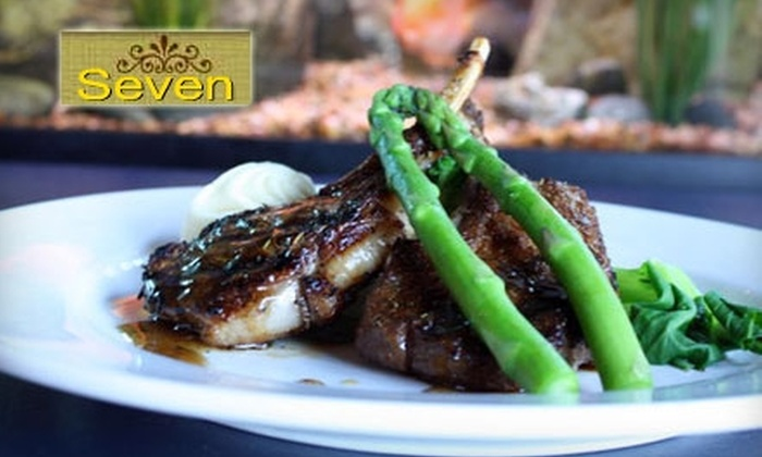 SE7EN - Capitol Hill: $22 for $49 Worth of Fusion Fare and Drinks at SE7EN