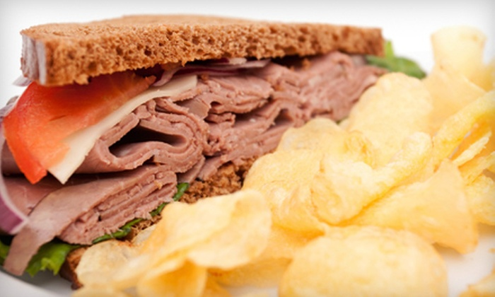 Crestwood Catering & Deli - Buckingham Lake - Crestwood: $10 for Two Deli Sandwiches and Two Drinks at Crestwood Catering & Deli (Up to $20 Value)