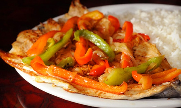 Cuba De Ayer Restaurant - Burtonsville: Cuban Dinner or Lunch Fare at Cuba De Ayer Restaurant in Burtonsville (Up to 52% Off)