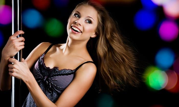 Diamond Angels Dance Studio - Haddon: 5 or 10 Pole-Dance Fitness Classes at Diamond Angels Dance Studio in Haddon Township (Up to 78% Off)