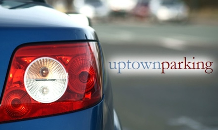 Uptown Parking - Crawford Roberts Hill: $90 for 90 Days of Parking at Uptown Parking Lots ($225 Value)