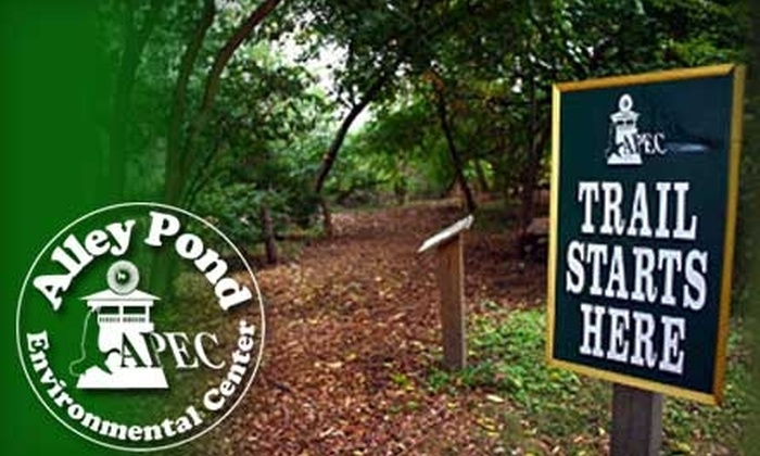 Alley Pond Environmental Center - Douglaston Little Neck: One-Year Membership to the Alley Pond Environmental Center in Douglaston. Choose from Two Options.