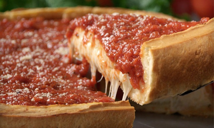Giordano's - Multiple Locations: Stuffed Pizza, Pasta, and Sandwiches at Giordano's in Orlando, Lake Buena Vista, and Kissimmee. Two Options Available.