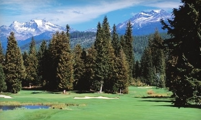 Whistler Golf Club - Whistler: $149 for a Round of Golf for Two, $15 at Palmer's Gallery Bar & Grill, and More at Whistler Golf Club (Up to $299 Value)