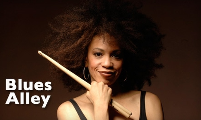 Blues Alley - Georgetown: $36 for One Ticket to Cindy Blackman Show Plus Dinner at Blues Alley ($72 Value). Choose from Four Performances.