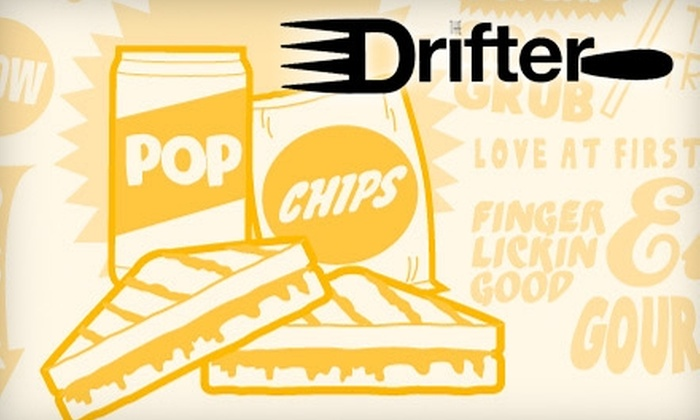 The Drifter - El Paso: $5 for $10 Worth of Sandwiches and Paninis at The Drifter