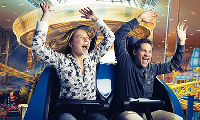 West Edmonton Mall - Summerlea: $69.99 for Multi-Play Pass for Five-Day Consecutive Days of Fun-Park Attractions at West Edmonton Mall ($103.95 Value)