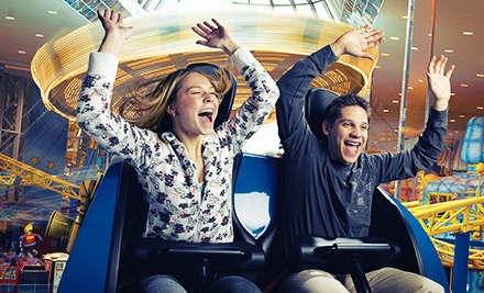 $69.99 for a Five-Day Individual Multi-Play Pass for Indoor Fun-Park Attractions at West Edmonton Mall ($103.95 Value)