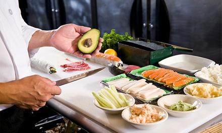 Curso de sushi en la nueva escuela de cocina de Chema de Isidro para 1 o 2 personas desde 19,95 €