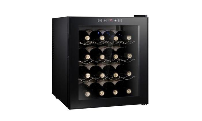 cave vin 16 ou 24 bouteilles groupon. Black Bedroom Furniture Sets. Home Design Ideas
