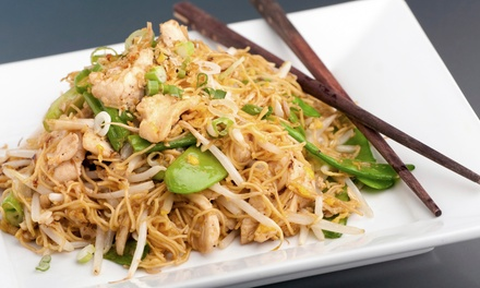 Thai and Asian-Fusion Dinner Fare at Siam Thai Restaurant or Siam Fresh Asian Cuisine (50% Off)