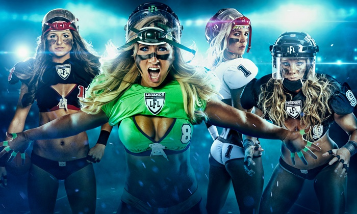 Legends Football League - ShoWare Center: Legends Football League Championship for One or Four at ShoWare Center on August 23 at 3 p.m. (Up to 41% Off)