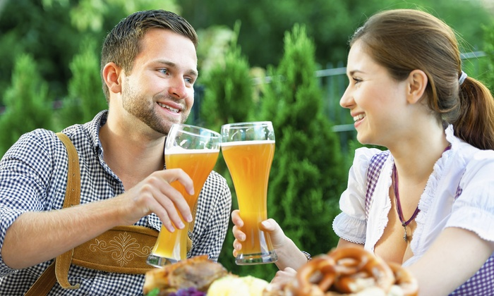 Upper Tampa Bay Chamber of Commerce - Tampa Bay Downs: Two or Four Tickets to Oktoberfest from Upper Tampa Bay Chamber of Commerce (Up to 40% Off)