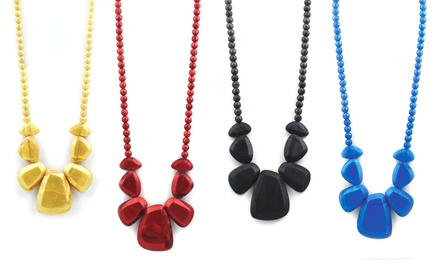 Nixi Rocca Silicone Teething Necklace