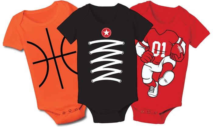 Infant Sports Bodysuits: Infant Sports Bodysuits