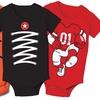 Infant Sports Bodysuits