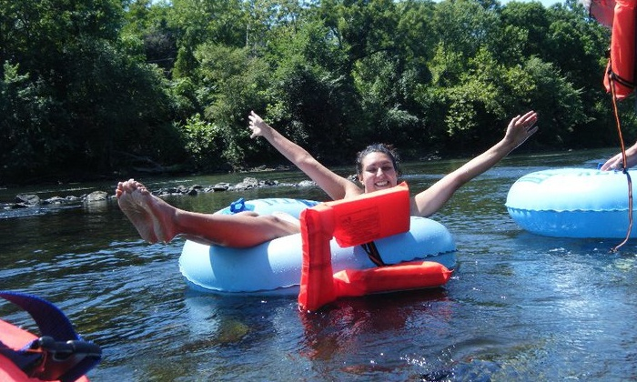 Reading Rivertribe - Reading: Tubing on the Schuylkill River for One, Two, Four, or Eight with Reading Rivertribe (Up to 56% Off)