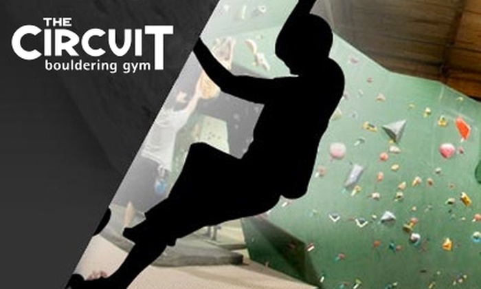 The Circuit Bouldering Gym - Corbet - Terwilliger - Lair Hill: $12 for Three Day-Passes to The Circuit Bouldering Gym