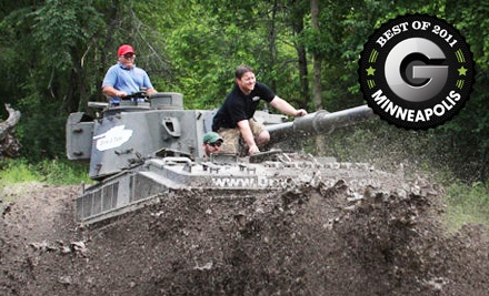Tank-Driving Experience for 1 (a $429 value) - Drive a Tank in Kasota