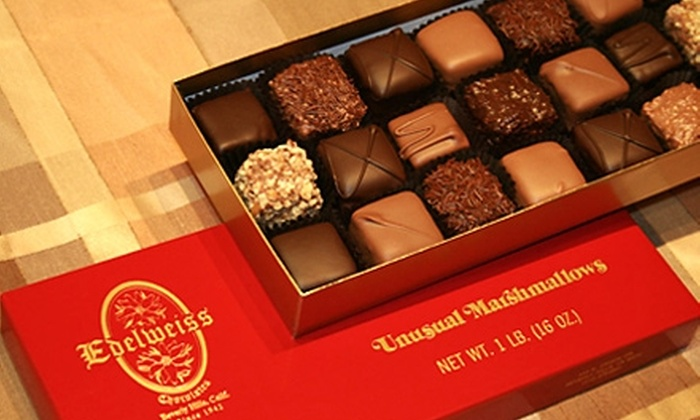 Edelweiss Chocolates - Beverly Hills: $15 for $30 Worth of Hand-Dipped Chocolates at Edelweiss Chocolates in Beverly Hills