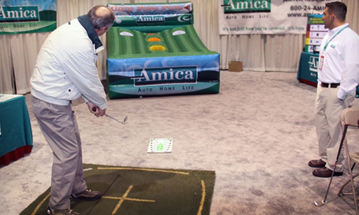 Southern New England Golf Expo - Downtown Providence: One-Day Admission for Two or Four to Southern New England Golf Expo at the Rhode Island Convention Center
