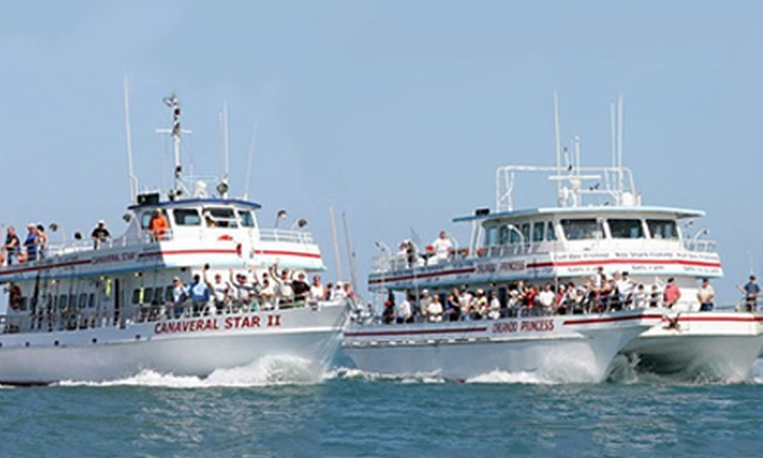 Fishing trip orlando princess groupon for Cape canaveral fishing