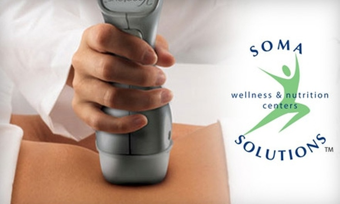 Soma Solutions Wellness & Nutrition Centers - Greenway/ Upper Kirby: $185 for Two VelaShape II Treatments ($800 Value) or $155 for Up to 20 Units of Botox for One Area ($320 Value) at Soma Solutions Wellness & Nutrition Centers
