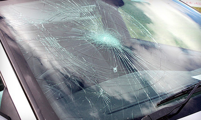 Aaron Auto Glass - Hermosa: One or Two Windshield-Chip Repairs or $55 for $100 Toward Windshield Replacement at Aaron Auto Glass