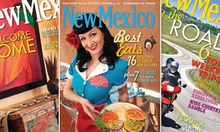 "New Mexico Magazine - Albuquerque: $10 for a One-Year Subscription to ""New Mexico Magazine"""