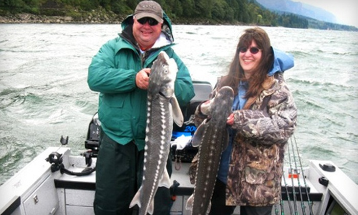 Columbia River Fishing Adventures - Astoria: $175 for an All-Day Fishing Outing for Two from Columbia River Fishing Adventures in Astoria