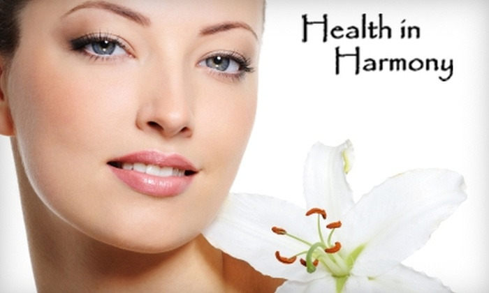 Health In Harmony - Stonington: $60 for a Microdermabrasion Package at Health In Harmony in Mystic ($135 Value)