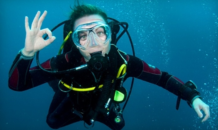 Divers Reef - Northeast Colorado Springs: $85 for an Open-Water Certification Class ($185 Value) or $5 for a Discover Scuba Class ($10 Value) at Divers Reef
