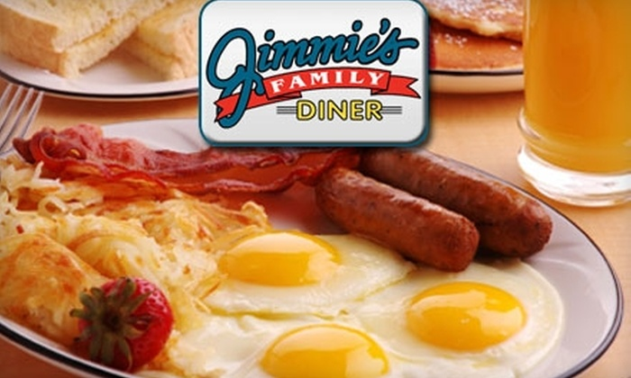 Jimmie's Family Diner - Cottonwood Village: $7 for $15 Worth of Burgers, Sandwiches, and More at Jimmie's Family Diner