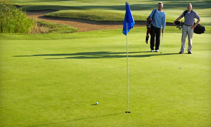 Sunrise Ridge Golf Course - Colman: Day of Unlimited Golf with Cart Rental for Two or Four at Sunrise Ridge Golf Course in Colman (Up to 74% Off)