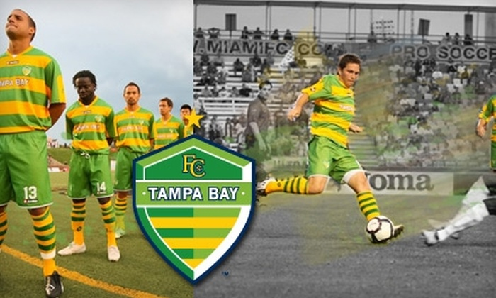 Tampa Bay Rowdies - Drew Park: $14 for One Sideline Ticket to the Tampa Bay Rowdies ($29.75 Value). Choose from Two Games.