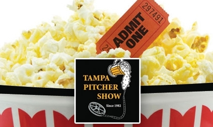 Tampa Pitcher Show - Citrus Park-Fern Lake: $6 for One Movie Ticket Plus a Large Popcorn and Small Soda at Tampa Pitcher Show
