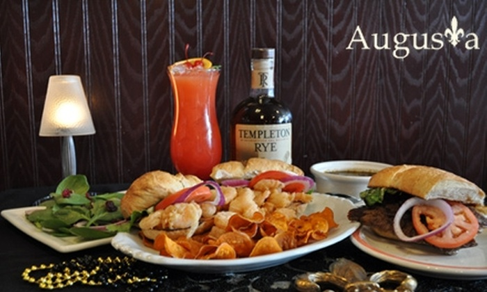 Augusta Restaurant - Oxford: $15 for $30 Worth of Creole Dinner Fare (or $6 for $12 Worth of Lunch) at Augusta Restaurant