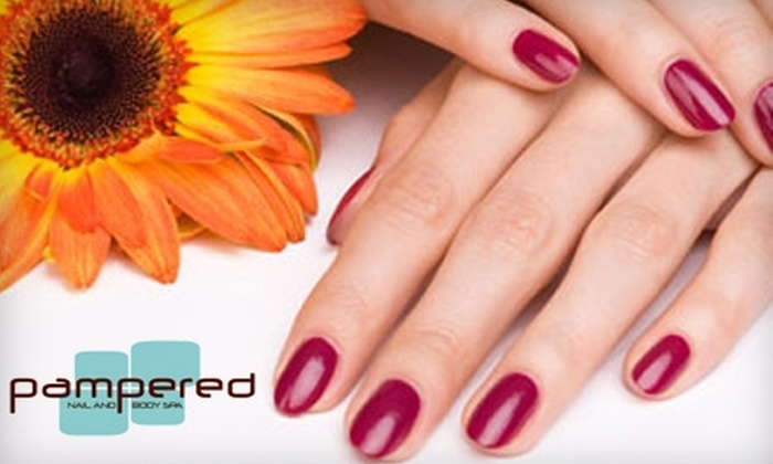 Pampered Nail and Body Spa - Castleberry Hill: $30 for a Pampered Me Mani-Pedi at Pampered Nail and Body Spa ($60 Value)