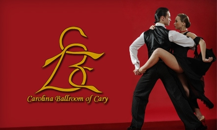 Carolina Ballroom of Cary, Inc. - Harbour Towne: $27 for Two Private 30-Minute Ballroom Dance Lessons at Carolina Ballroom of Cary ($55 Value)