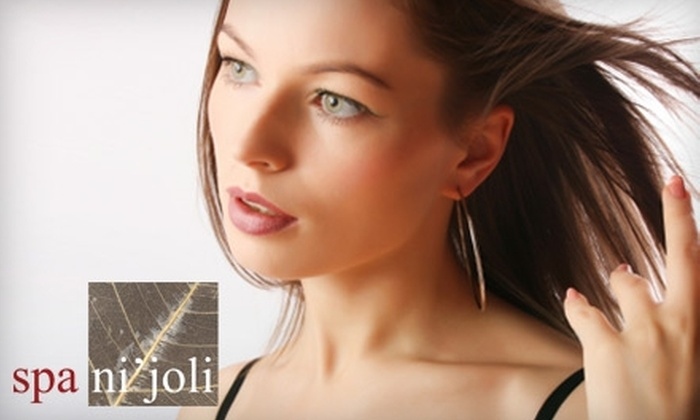 Spa Ni'joli - Methuen: $25 for a Seasonal Spa Pedicure ($50 Value) or $60 for a Haircut and Color (Up to $120 Value) at Spa Ni'joli in Methuen