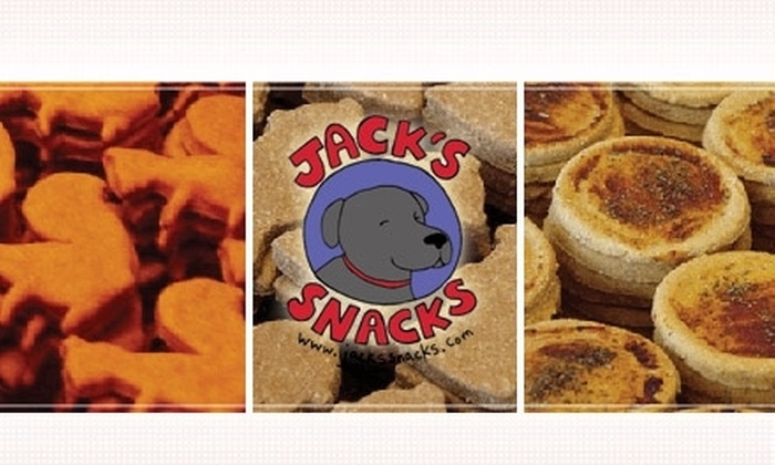 Jack's Snacks - Cranston: $12 for $25 Worth of Doggie Delicacies from Jack's Snacks