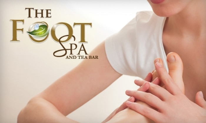 The Foot Spa and Tea Bar - Cleveland Heights: $40 for a 75-Minute Foot and Body Massage Package at The Foot Spa and Tea Bar in Oakland ($80 Value)