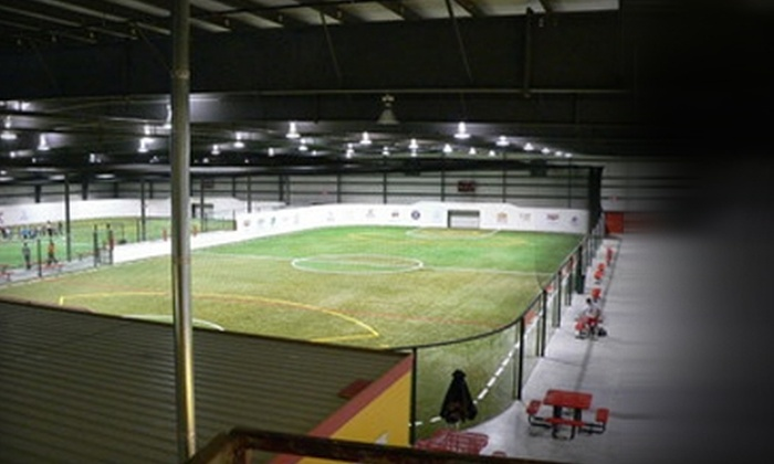 Players Indoor Sports Center - Naperville: $80 for a One-Hour Rental of Large Indoor Athletic Field at Players Indoor Sports Center in Naperville ($175 Value)