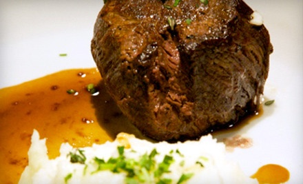 $50 Groupon to Medallion Steakhouse - Medallion Steakhouse in Burlingame