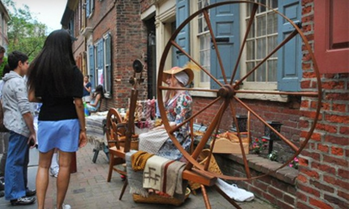 Elfreth's Alley Museum - Elfreth's Alley,Old City,Old City Lounge District: Admission for Two or Four to Elfreth's Alley Museum (Up to 55% Off)