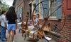 Elfreths Alley - Elfreth's Alley,Old City,Old City Lounge District: Admission for Two or Four to Elfreth's Alley Museum (Up to 55% Off)
