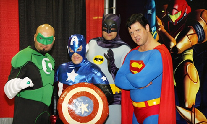 Mid-Ohio Comic Con - Greater Columbus Convention Center: $10 for a One-Day Outing at the Mid-Ohio Comic Con on Sunday, October 23 (Up to $35 Value)