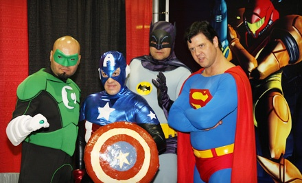 Mid-Ohio Comic Con at the Greater Columbus Convention Center on Sun., Oct. 23 at 10AM: General Admission - Mid-Ohio Comic Con in Columbus