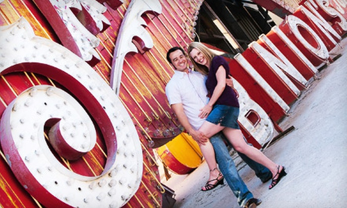 Paradise Design and Photography - Las Vegas: $59 for a One-Hour Family or Engagement Photo Shoot and Prints from Paradise Design and Photography ($300 Value)