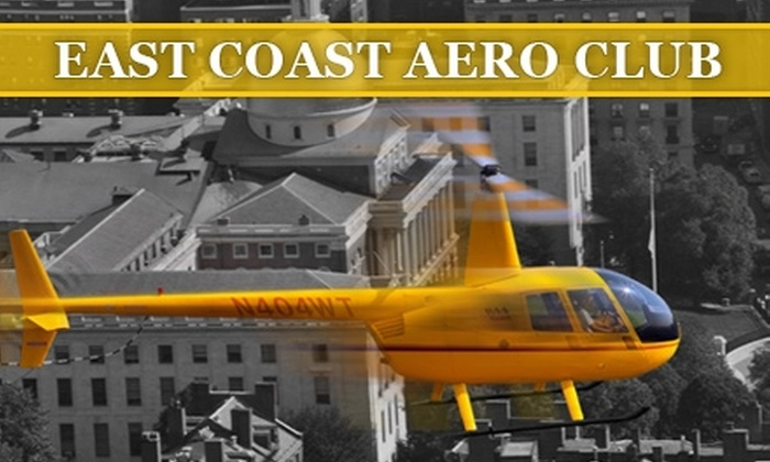 East Coast Aero Club - Lincoln: $69 for an Introductory Helicopter-Flying Lesson from East Coast Aero Club ($225 Value)
